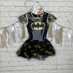 Batman Dress Costume sz Small Toddler